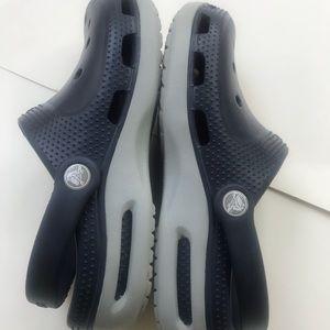 CROCS Shoes - Crocs blue gray mens 6 womens 8